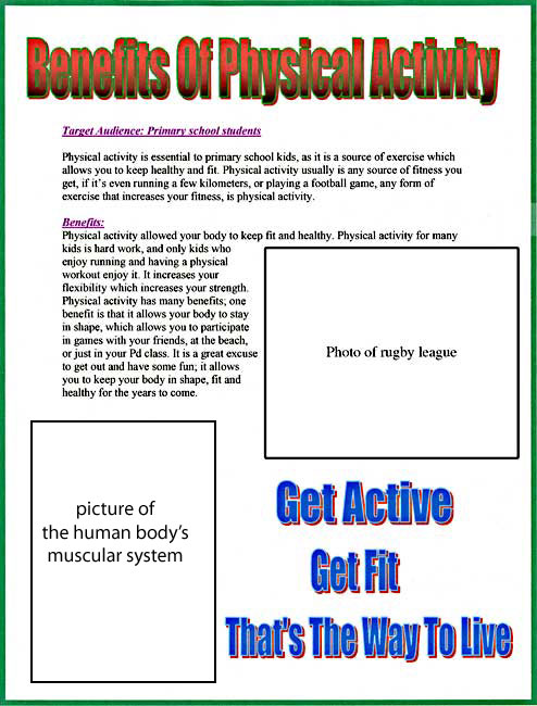 benifits of physical activity Some of the many health benefits to incorporating physical activity into your daily routine are highlighted find out how much physical activity you need and ideas.