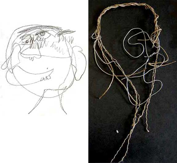 Visual Arts: Wire Sculptures - Cameron